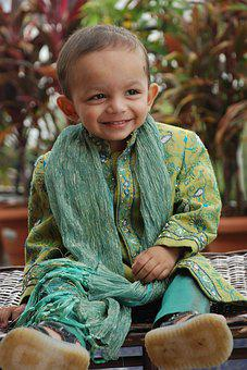 Indian, Boy, Traditional Dress