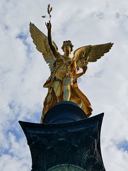 Munich, Bavaria, Tourism, Angel Of Peace, Space, Visit
