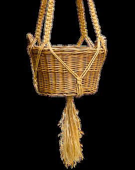 Basket, Wicker Basket, Isolated, Weave, Craft, Wicker