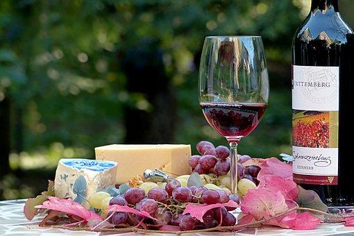 Still Life, Eat, Drink, Wine, Red Wine, Wine Bottle