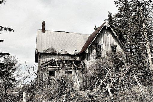 Abandoned, House, Farm, Scary, Creepy, Nightmare