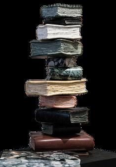Books, Book, Stack, Old, Paper, Literature, Antique