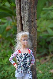 Doll, Fashion, Beautiful, Toys, Lady, Nature
