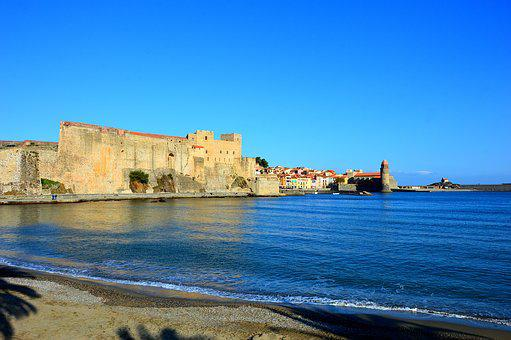 Collioure, France, Catalan, French Town, Mediterranean