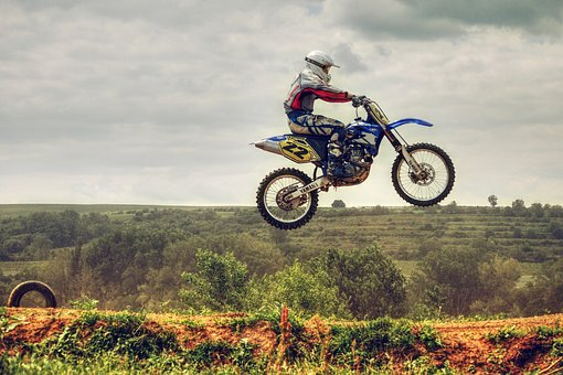 Motocross, Motorcycle, Race, Heaven, Circle, Rider