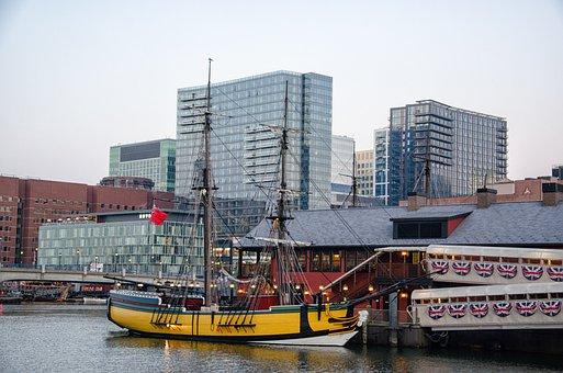 Boston, Sailing Vessel, East Coast