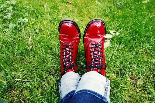 Feet, Shoes, Woman Shoes, Doctor Martens