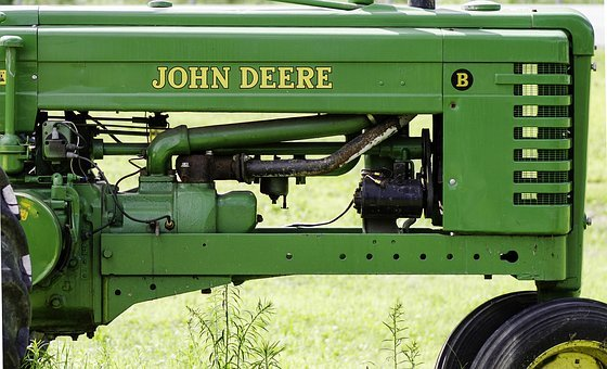 Tractor, John Deere, Farm, John, Farming, Field, Straw