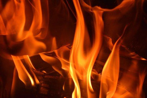 Open Fire, Flame, Heat, Fire, Fireplace, Burn, Blaze