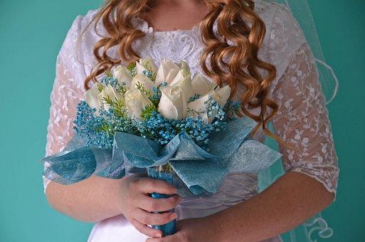 Flower, Wedding, Bride