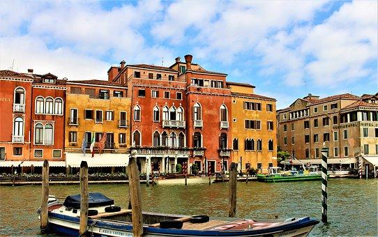Venice, Italy, Travel, Buildings, World, Tourist