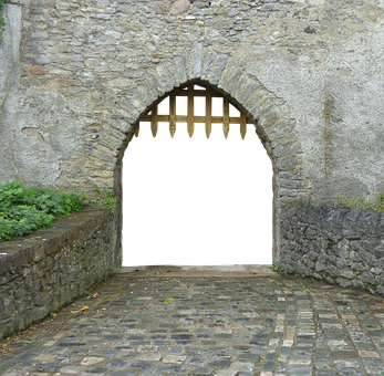 Goal, Input, Portcullis, Old Gate, Metal, Old, Castle