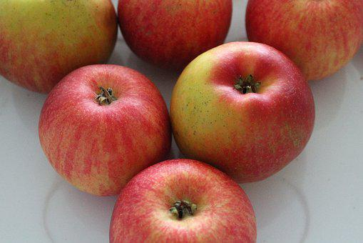 Apples, Fruit, Vitamins, Red, Nature, Healthy Food