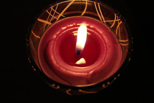 Candle, November, The Feast Of The Dead