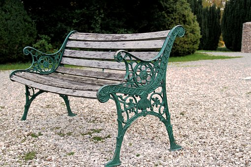Bank, Bench, Wooden Bench, Park, Nature, Park Bench