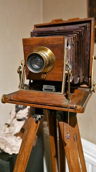 Photo Camera, Antique, Old, Camera, Shooting