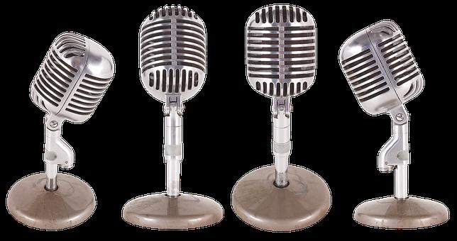 Wireless Microphone, Radio, Microphone, Sound