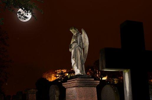 Cemetery, Stirling, Scotland, Graveyard, Stone