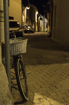 Bicycle, Evening, Country, Italy, Bike, Summer, Cycling