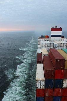 Vessel, Container, Transport, Water, Ocean, Marinarit
