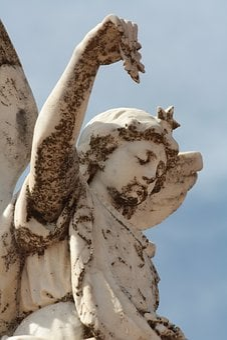 Angel, Graveyard, Statue, Cemetery, Religion, Grave