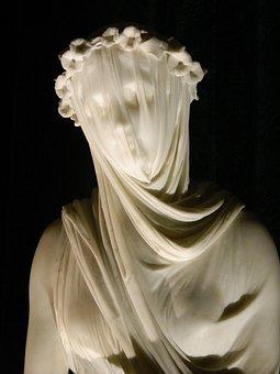 Statue, Female, Woman, Sculpture, Antique, Historical