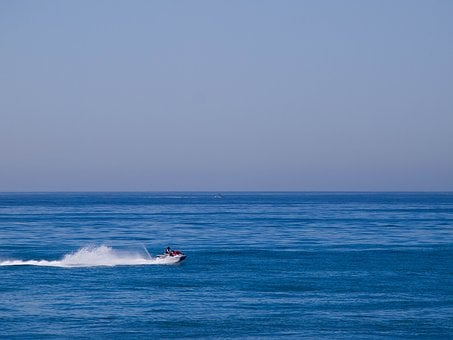 Sea, Jet Ski, Ocean, Water Sports, Watercraft, Beach