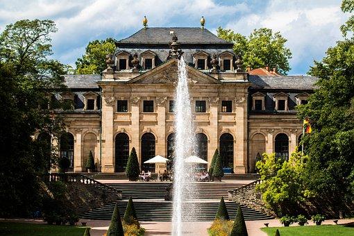 Baroque, Building, Architecture, Fulda, Hotel, Castle