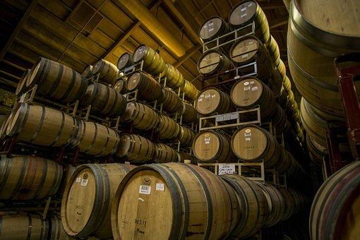 Wine Barrels, Barrels, Wine, Cellar, Wine Barrel, Cask