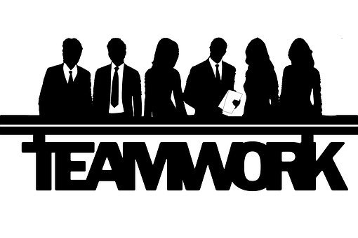 Businessman, Businesswoman, Team Spirit, Teamwork, Euro