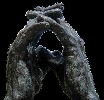 Hands, Sculpture, Bronze, Finger, Artwork, Security
