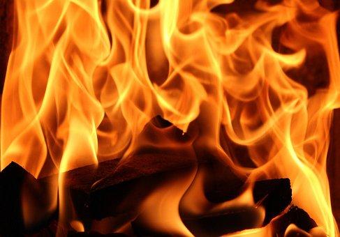 Fire, Glow, Heat, Fireplace, Flames, Censer, Light