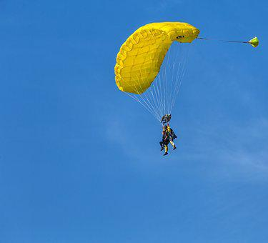 Paratrooper, Flight, Skydiving, Fly, Freedom