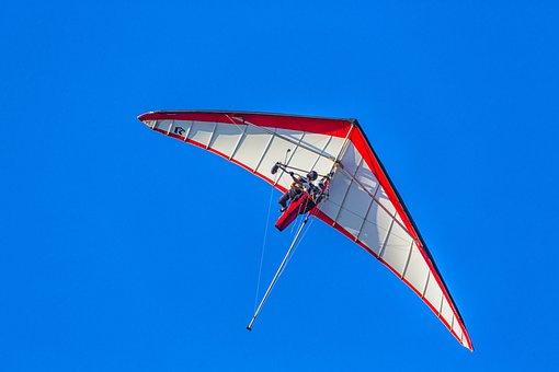 Ultralight, Air, Fly, Flight, Freedom, Person Flying