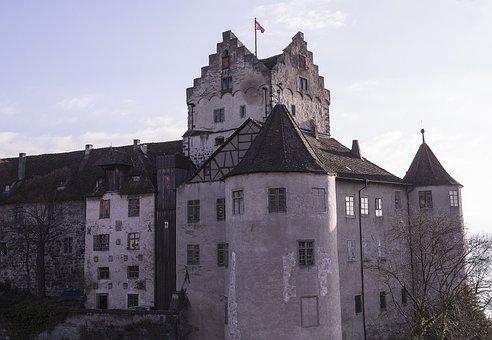 Castle, Meersburg, Lake Constance, Germany