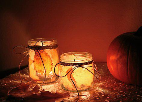 Pumpkin, Halloween, Autumn, October, Candle, Diy
