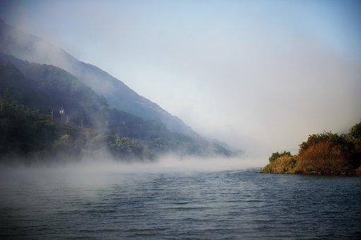 Fog, Seomjin, In Autumn
