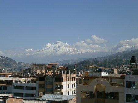 Snowy, Huaraz, Peru, Mountains, Landscape, Cordillera