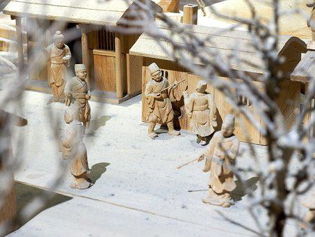 Ancient China, Minature, Model, Scale