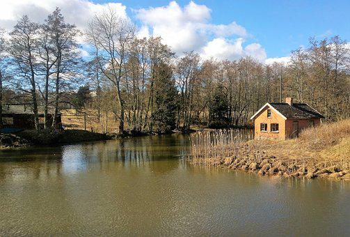 Dalsland, Nature, Water, Spring, For, Countryside