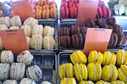 Macarons, Eat, Food, Nutrition, Sugared, Break, Lips