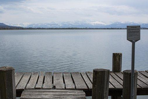 Lake, Nature, Pfäffikersee, Switzerland, Landscape