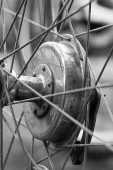 Wheel, Bike, Detail, Macro, Bicycle, Cycle