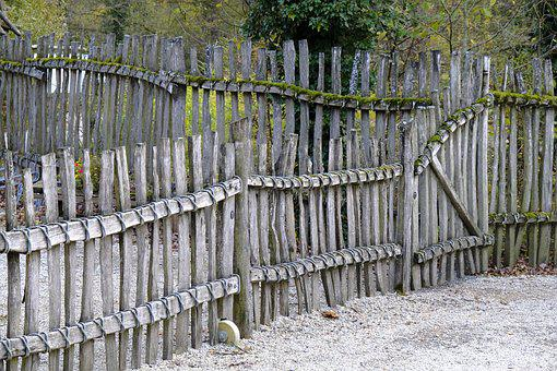 Fence, Separation, Gate, Wood Fence, Protection