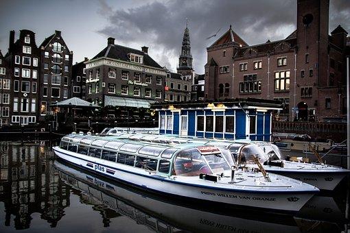 Amsterdam, Boot, Channel, Netherlands, Channel Gracht