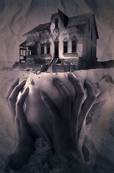 Fantasy, Book Cover, Home, Hands, Mysticism, Mysterious