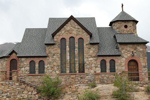 Church, Stone, Architecture, Old, Facade, Chapel