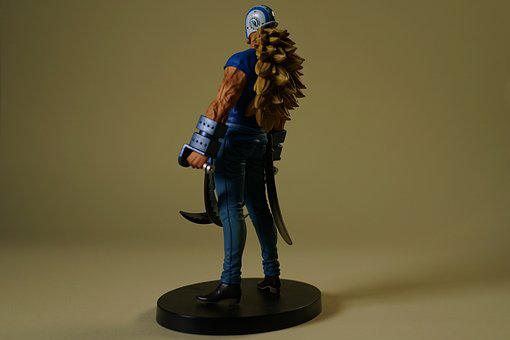 Japanese Manga Figurine, Collectables, Fans, Anime
