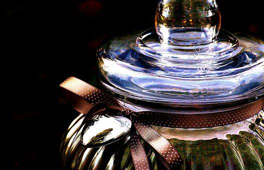 Cookie Jar, Glass, Candy-glass, Container, Storage
