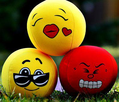 Smilies, Emotions, Balls, Funny, Cute, Smiley
